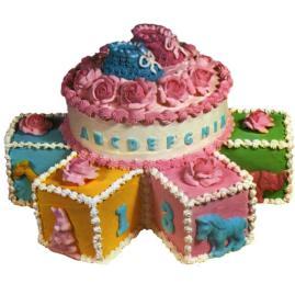 Wilton 1975 Baby Cake