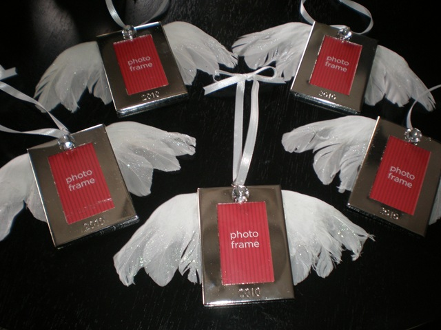 Diy Christmas Angel Frame Ornament Giveaway Royal Events By Melissa
