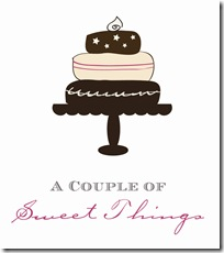 Final Logo - A Couple Of Sweet Things 300 DPI - For Print